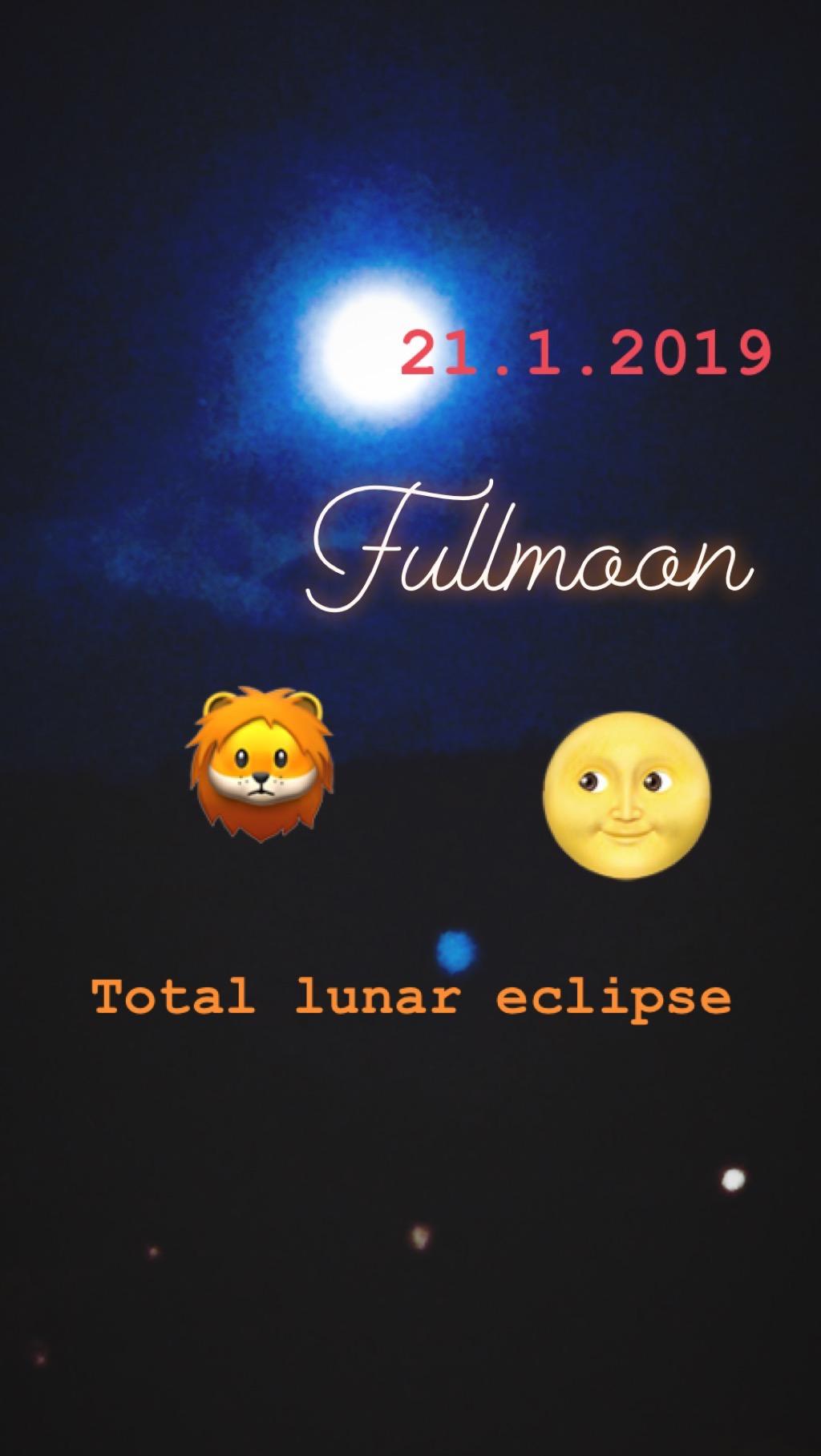In Zeiten der Sonnen – und Mondfinsternissen